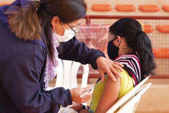Hasta ahora sólo fue a vacunarse el 35% de los chicos convocados