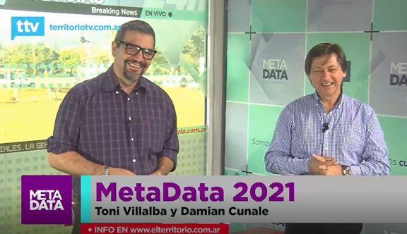 MetaData #2021: Un programa entre candidatos y spot publiitarios