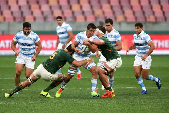 Los Pumas cayeron ante Sudáfrica en el inicio del Championship