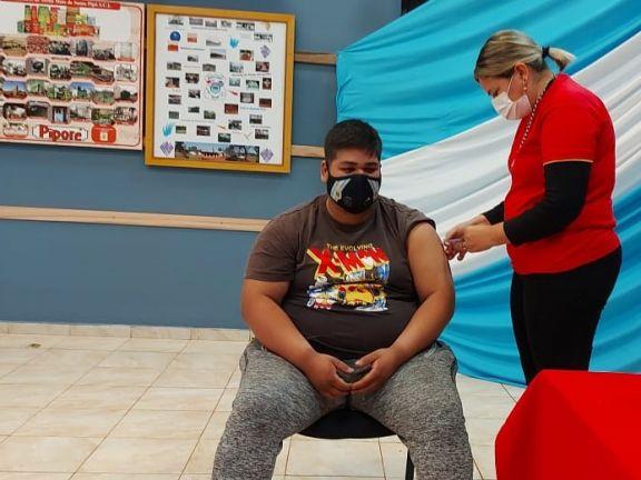 Jornada de vacunación anticovid en Pipó, con buena concurrencia