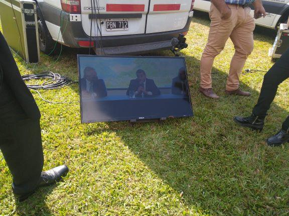 De esta manera los medios de prensa de Misiones cubrieron el anuncio del presidente Alberto Fernández