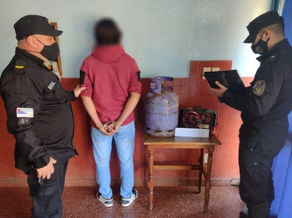 Aristóbulo del Valle: engañó a su vecina para robarle y terminó en la comisaría