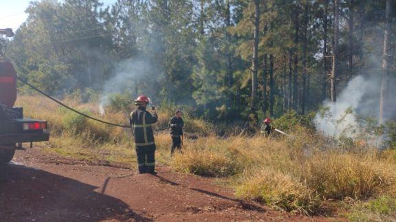 Santa Ana: detuvieron a un hombre que provocó un incendio de malezas