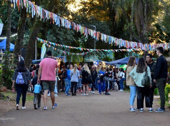 """En el Parque de las Naciones se vivió a pleno la propuesta """"Agosto en Oberá"""""""