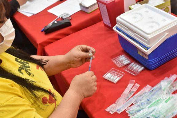 se disparó la demanda  de la primera dosis de la vacuna contra el covid