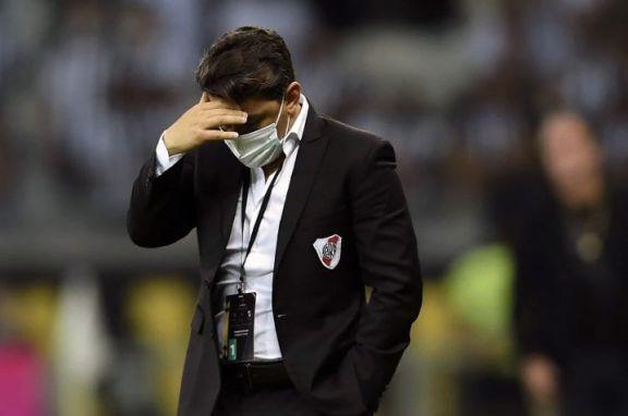 """Gallardo, sin excusas tras la eliminación de River: """"Mineiro nos superó y hay que reconocerlo"""""""