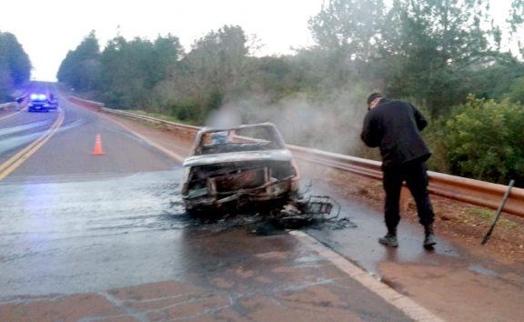 Campo Viera: colisión sobre ruta 14 dejó un motociclista fallecido
