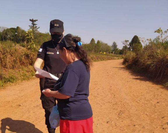 San Pedro: operativos policiales para prevenir hechos de violencia en la ruralidad