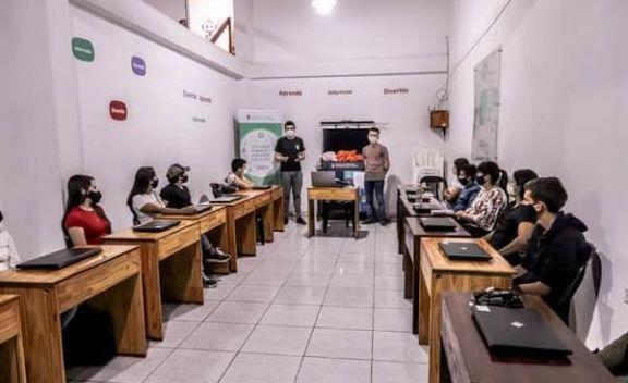 Comenzaron los cursos de operadores de PC en el municipio de El Soberbio