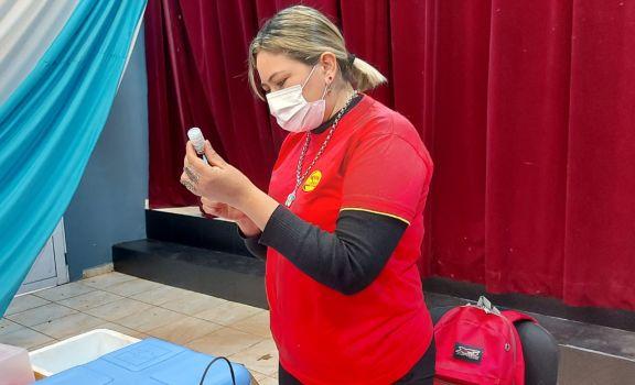 Santo Pipó: convocan a más de 70 jóvenes para completar esquema de vacunación