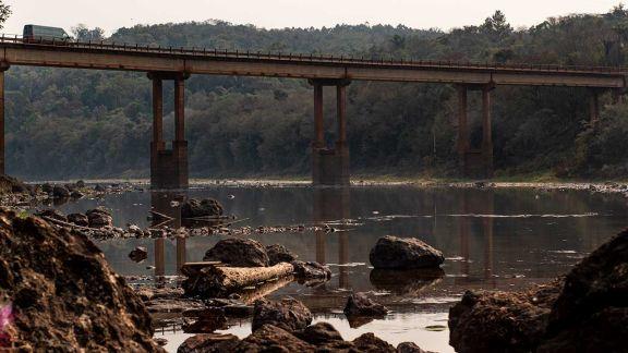 La sequía muestra un escenario que no se veía desde hace casi 80 años