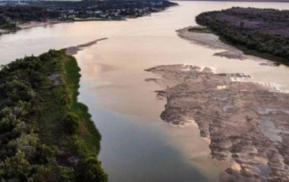 Creció el río Paraná, pero se estima que volverá a descender al menos hasta octubre