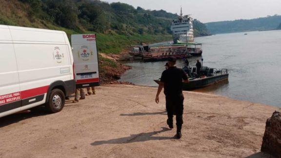 Hallaron el cuerpo del joven que se ahogó en el río Iguazú