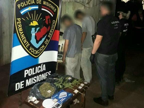 Narcomenudeo: desbarataron un kiosco narco y detuvieron a dos hermanos