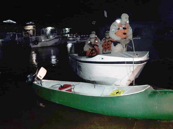 Ituzaingó: Prefectura asistió a dos navegantes que cayeron al rio