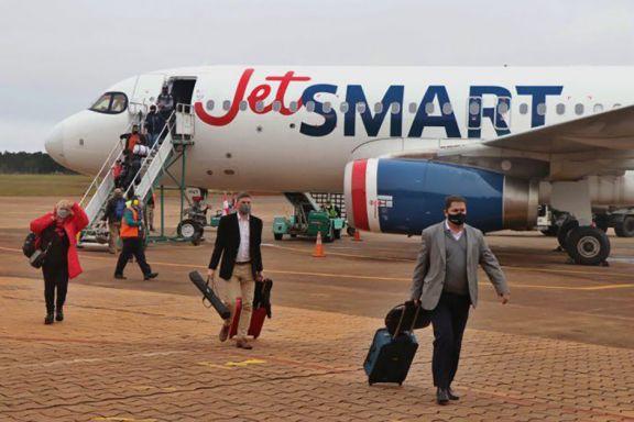 Fuerte aumento de demanda para vuelos nacionales