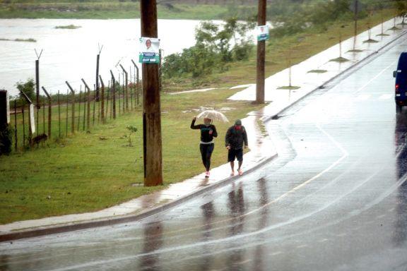 Más de quince familias fueron asistidas por el temporal