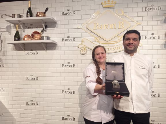 De la mano de Saúl Lencina, la cocina misionera se lució en la final del Prix de Baron B.