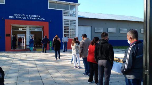 Comenzó a votar Ituzaingó en un clima tranquilo