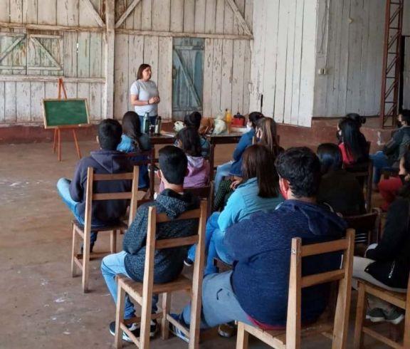 San Antonio: capacitación sobre cambio climático para alumnos del secundario