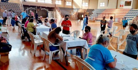 En Eldorado comenzarán a vacunar sólo en el Polideportivo del Kilómetro 3