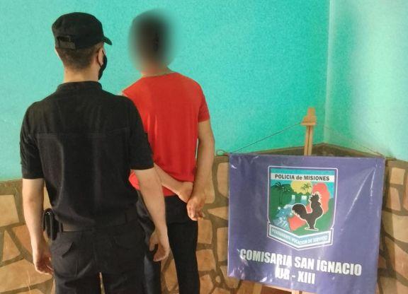 San Ignacio: joven amenazó con incendiar la casa de su vecina y terminó detenido