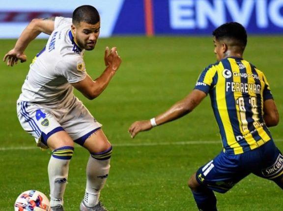 Con un gol en contra en el último minuto Boca le ganó a Central en Rosario