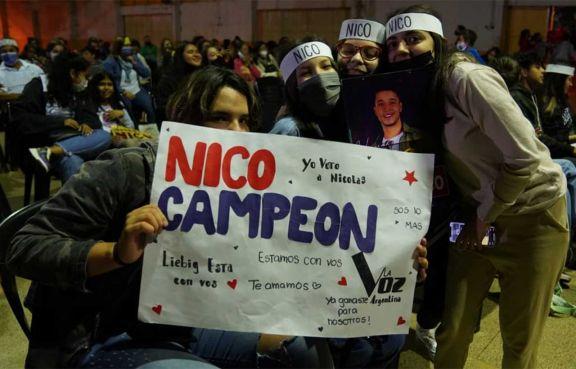 Nicolás Olmedo: un sueño cumplido respaldado por los apostoleños