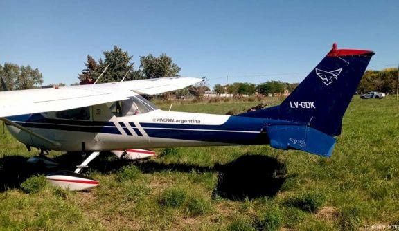 Avioneta tuvo que realizar un aterrizaje de emergencia en la zona del Lago Uruguaí