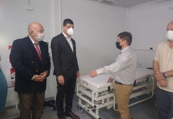 Nación realizó el traspaso del hospital modular a la provincia
