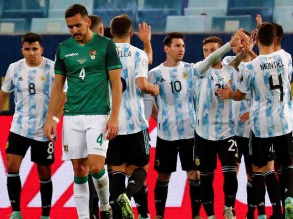 Argentina - Bolivia, formaciones y por donde verlo