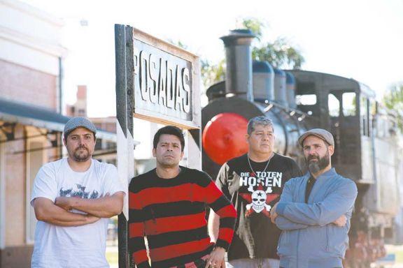 Los pioneros del punk en Misiones vuelven al ruedo