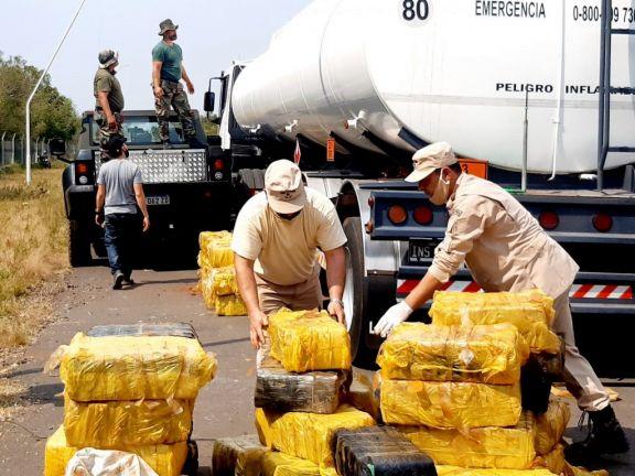 Tras la pista de 12 toneladas de marihuana, detuvieron a parte de una banda narco en Candelaria, Posadas e Ituzaingó