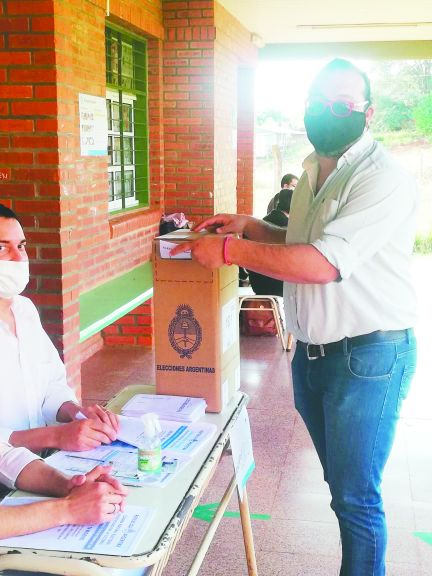 """""""Nos posicionamos como la cuarta fuerza en la provincia"""", afirmó Eduardo Cantero del Partido Obrero"""