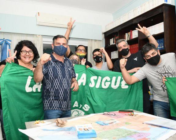 """Isaac Lenguaza: """"seremos el espacio genuino del gobierno nacional en Misiones"""""""