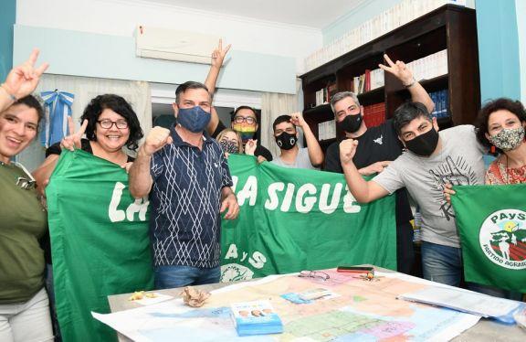 """Lenguaza: """"Muy contento por el resultado, refleja el respaldo que se da a la militancia"""""""