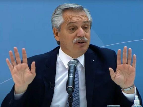 """""""La industria nacional debe tener un lugar preponderante"""", dijo Alberto Fernández al presentar la Ley de Compre Argentino"""