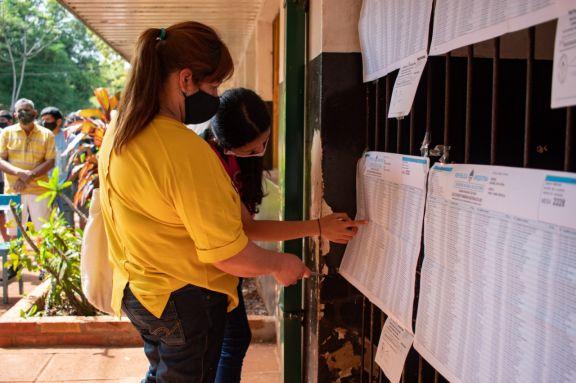 Se volverá a votar en la misma escuela en noviembre.  Foto: Matias bordón