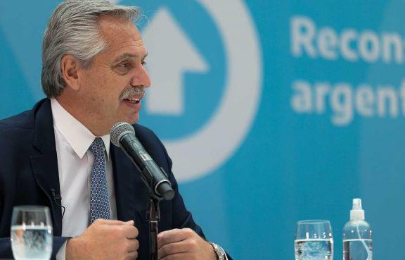 Alberto Fernández prometió ayer mantener el rumbo iniciado en 2019