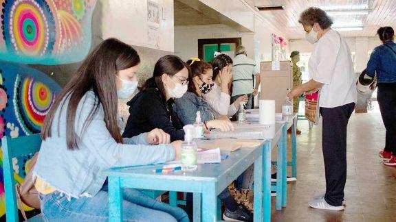 Irigoyen y El Soberbio, las comunas con menor concurrencia a las urnas