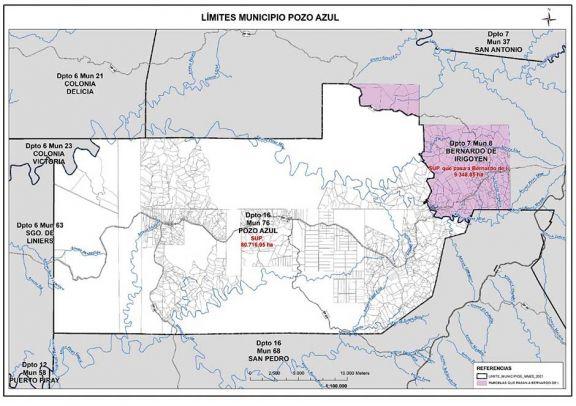 Proyecto de ley devolverá más  de 9 mil hectáreas a Irigoyen
