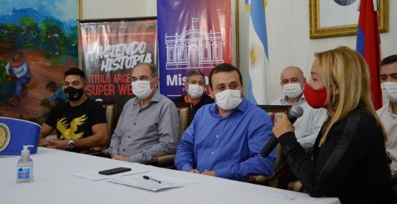 Se presentaron la velada de box en el Cepard y el Nacional de Patín artístico en Iguazú