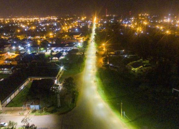 Santo Tomé: habilitaron iluminación en dos sectores y aguardan transformador para Atalaya