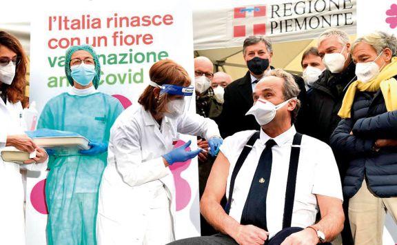 Italia obligará a vacunarse contra el Covid a todos los trabajadores