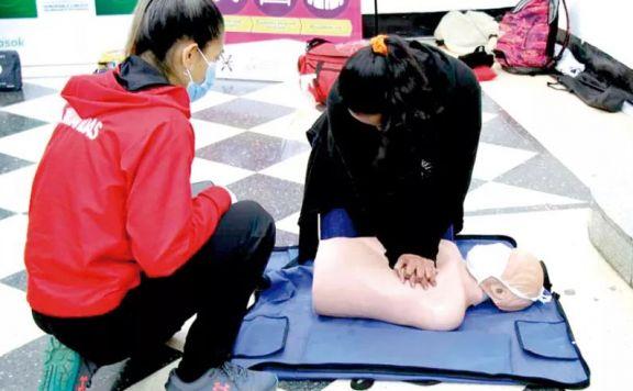 Brindan charlas sobre primeros auxilios desde hoy al domingo