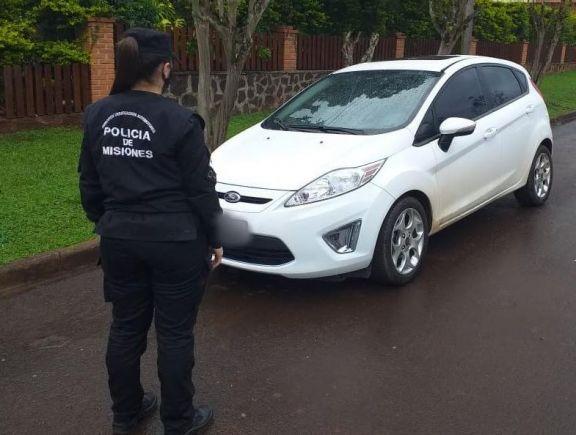 Secuestraron en Puerto Rico un automóvil robado en Buenos Aires