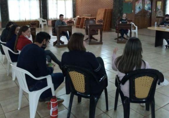 Primera sesión del Concejo Estudiantil en Ruiz de Montoya