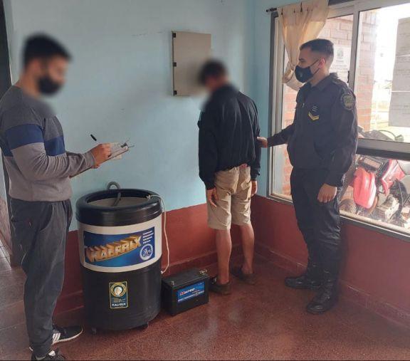 Dos detenidos implicados en robos a viviendas en Posadas