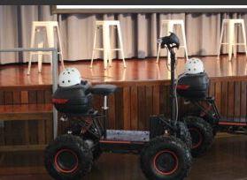 Presentaron vehículo eléctrico para el trabajo rural