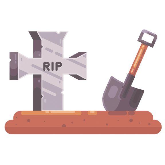 El llanto del enterrador